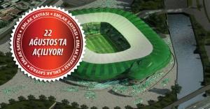 Bursa Büyükşehir Stadyumu'nda açılışa sayılı günler kaldı!