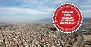 Bursa'da metrekare fiyatları belli oldu ! İşte rakamlar...
