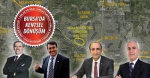 Bursa kentsel dönüşüm projeleri ve bölgeler