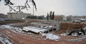 Bursa Merkez İmam Hatip Lisesi inşaatı tam gaz