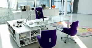 Çalışırken lüks ofisleri tercih ediyoruz!