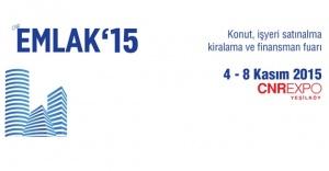 CNR Emlak 2015 Fuarı 4-8 Kasım'da Yeşilköy'de!