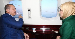 Cumhurbaşkanı Erdoğan Körfez Köprüsü'nü havadan izledi!