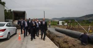 Demirtaş'a sağlıklı içme suyu ulaştırma çalışmaları hızlandı!