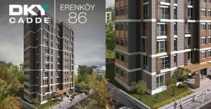 DKY Cadde Erenköy 86 Kadıköy'de yükselmeye devam ediyor!