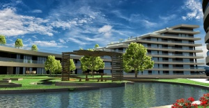 Doğa ve göl manzarası rezidanslara talebi arttırıyor