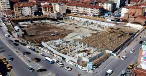 Eski terminal dönüşüm projesi hızla devam ediyor!
