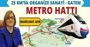 Gaziantep'te metro hattı çalışmaları başlıyor!