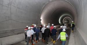 Ilgaz Tüneli Nisan 2016'da açılıyor