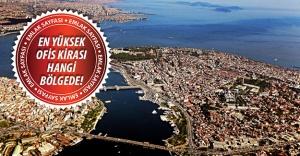 İstanbul'da bölge bölge en yüksek ofis kira liste fiyatları!