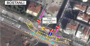 İzmir Halkapınar ve Bostanlı Deresi çevresinde yeni trafik düzeni!
