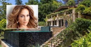 Jennifer Lopez'in 28 milyon dolarlık yeni evi!