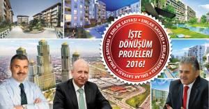 Kayseri'nin kentsel dönüşüm kentsel dönüşüm haritası belli oldu!
