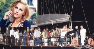 Meryem Uzerli yeni yaşını 32 metrelik yatta kutladı!