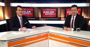 Mustafa Dündar Emlak Sayfası'na konuk oldu