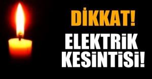 Nilüfer'de elektrik kesintisi! 26 Ağustos 2015