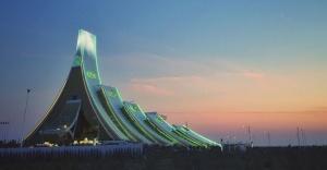 Orta Asya'nın en büyük kongre merkezi Awaza Kongre Merkezi açıldı!
