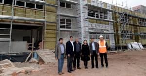 Osmangazi Belediyesi İlköğretim Okulu yapımında sona gelindi!