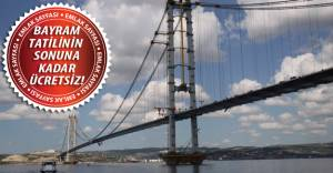 Osmangazi Köprüsü açıldı!