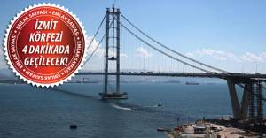 Osmangazi Köprüsü bugün açılıyor!