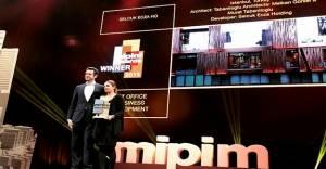 Tabanlıoğlu MIPIM'de ödül aldı!