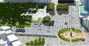 Taksim Meydan'ı düzenlemesinde 2. etap başlıyor!