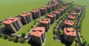 TOKİ Konya'da yerel mimariyle 405 konut yapacak!