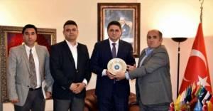 Türk Yerel Hizmet-Sen'den Başkan'a makamında ziyaret!