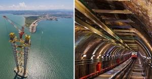 Türkiye mega projelerle gelişiyor!