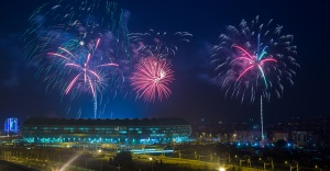 Yeni zaferlerin stadyumu açıldı!