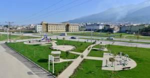 Yıldırım'da parklara modernizasyon çalışması!