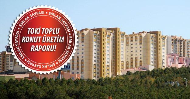 TOKİ'de 673 bin 799 konut yapımı gerçekleşti!