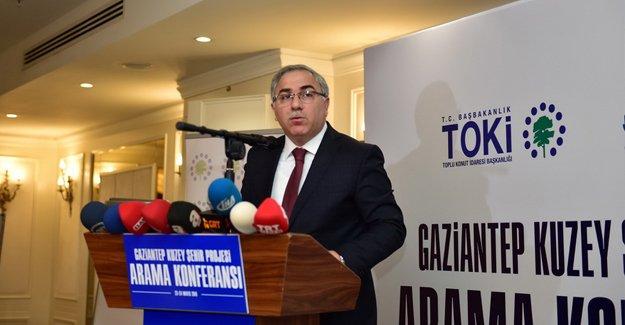 TOKİ'den Avrupa ölçeğinde 'Gaziantep Kuzey Şehir Projesi'!