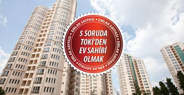 TOKİ'den ev almanın 5 püf noktası!