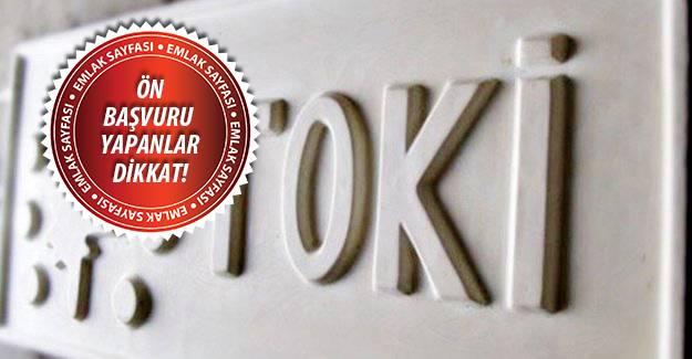 TOKİ Erbaa'ya 289 konut yapacak!
