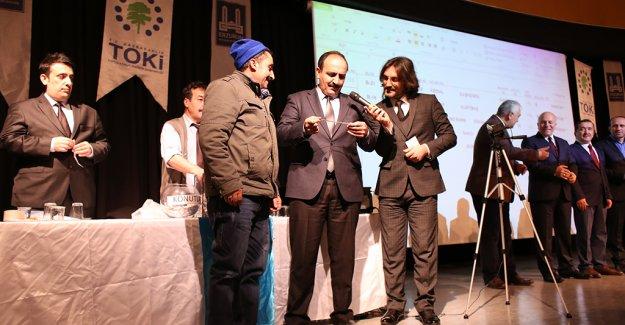 TOKİ Erzurum konutları kura çekim sonuçları