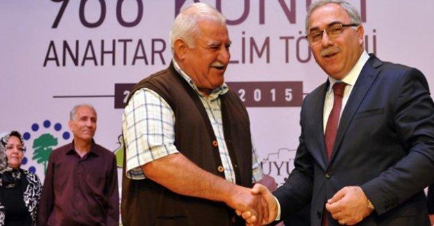 TOKİ Gaziantep'te 966 anahtarı teslim etti!