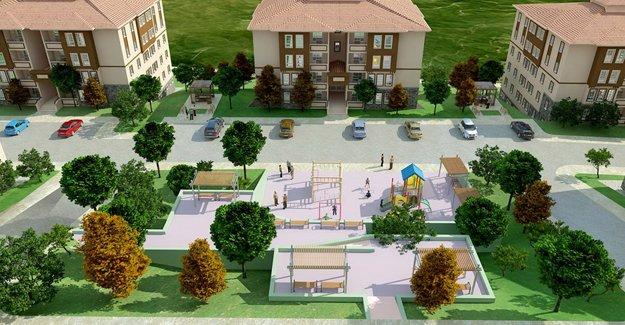 TOKİ  Isparta Gelendost'da 293 konut inşa edecek!