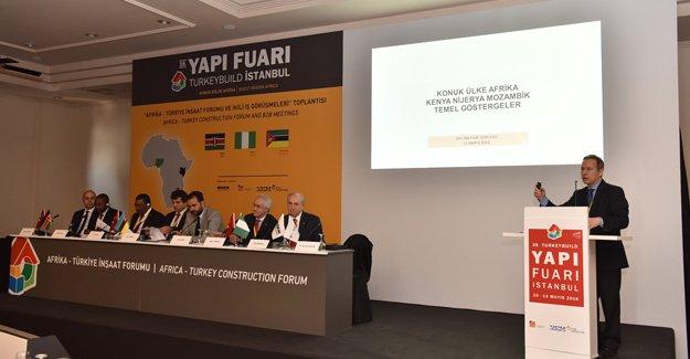 Türk inşaat sektörü Afrika'nın inşasına talip oldu!