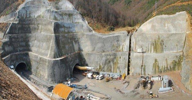 Türkiye'nin en uzun otoyol tüneli Mart 2016'da açılıyor!