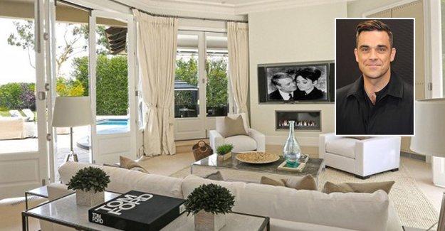 Ünlü müzisyen Robbie Williams saray yavrusu evini satıyor!