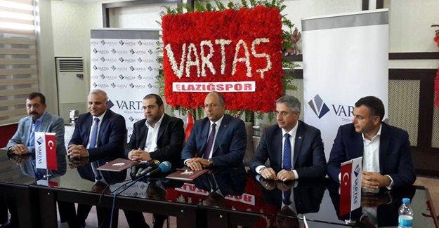 VARTAŞ'dan Elazığ'a dev sponsorluk!