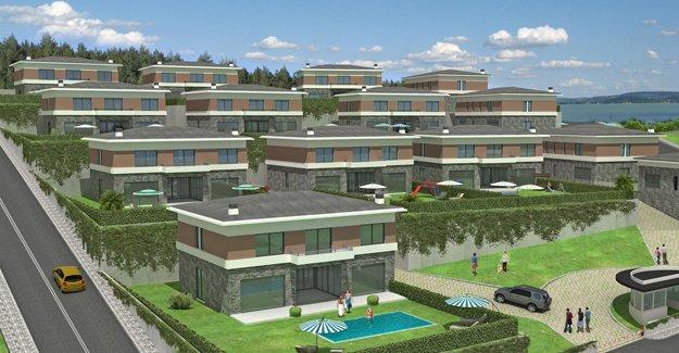 Villa Mare Arkat Yapı imzasıyla yükseliyor!