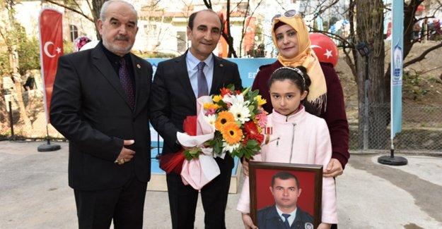 Yıldırım'da Şehit Polis Mehmet Kara Parkı açıldı!