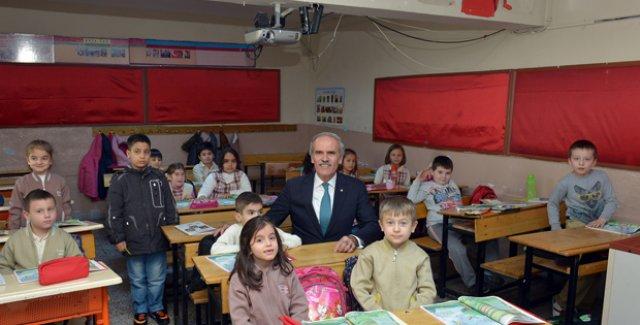 Yıldırım İlkokulu'da yenileniyor!