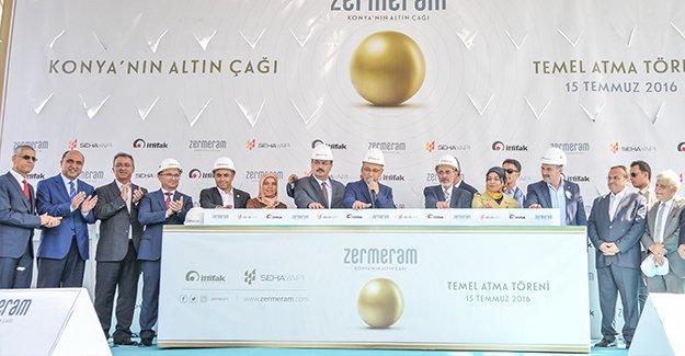 Zermeram projesinin temeli Bakan Lütfi Elvan tarafından atıldı!