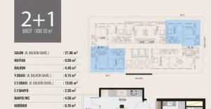Tima Terrace projesi kat planları!