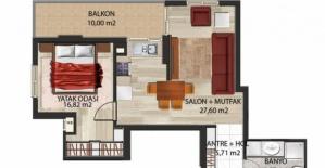 Panorama Evleri Mersin daire planları!