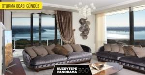 Kuzeytepe Panorama 360'ın Örnek Dairesi hazır!
