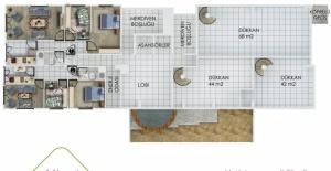 Yeşilce Towers kat planları
